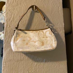 Excellent condition sm Coach Logo bag  Authentic